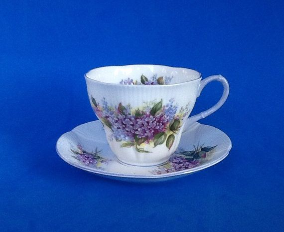 Royal Albert Blossom Time Series Lilac Bone by Whitepearlfinds