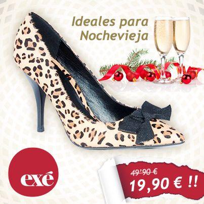 En #Exé Shoes te ayudamos a elegir zapatos para esta #nochevieja.