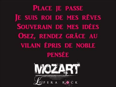 Opera Mozart Rock - Place je passe