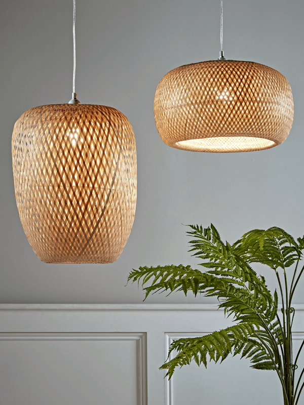 Woven Bamboo Pendant Large Sale Room Farmhouse Style Bedroom Decor Bedroom Ceiling Light Modern Farmhouse Style Bedroom