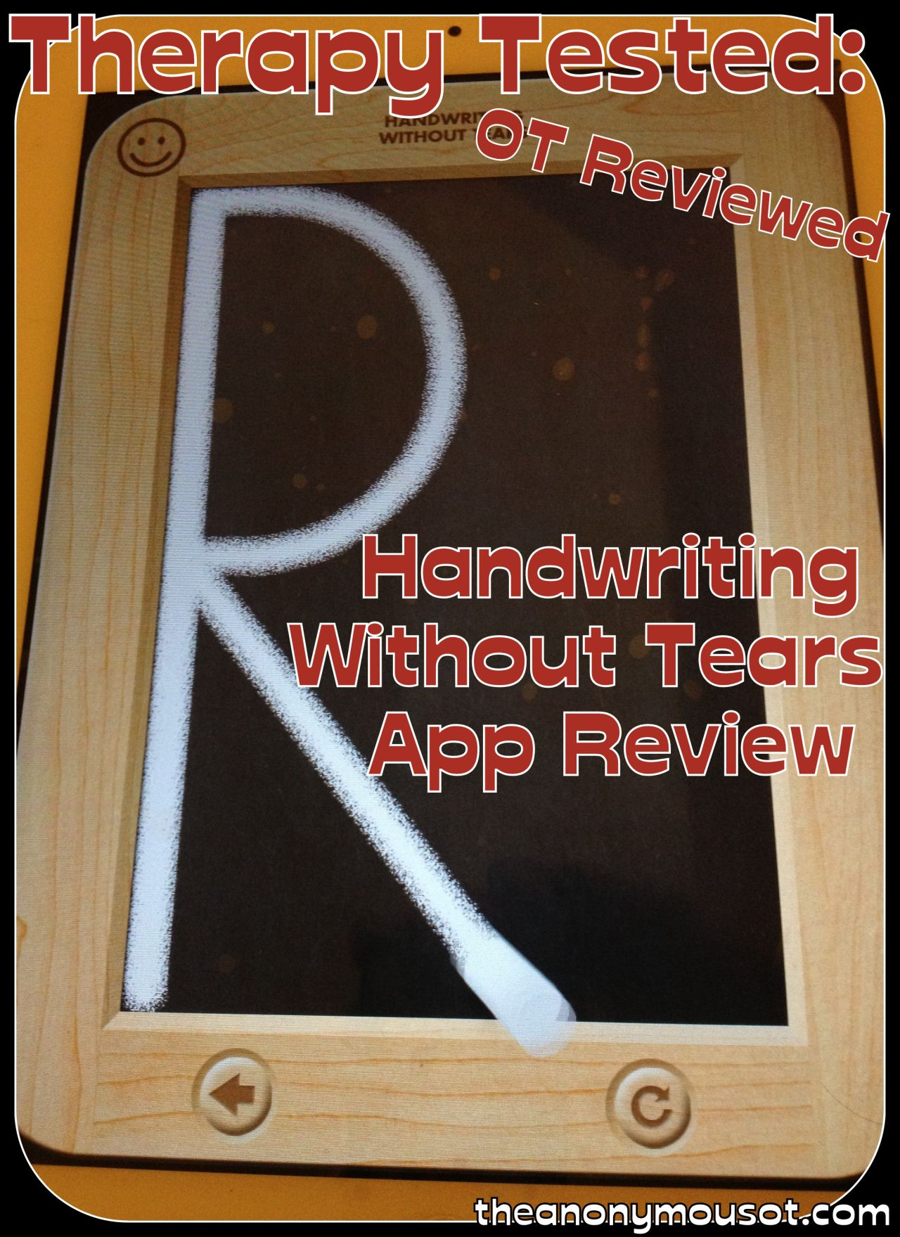 Handwriting Without Tears Wet Dry Try App Review With
