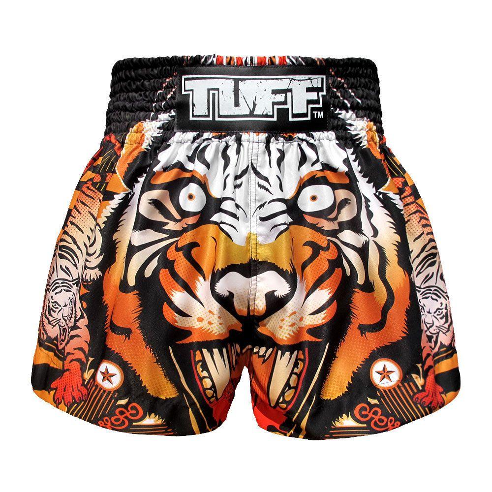Shorts boxing thai muay mma tiger kick fighting training sports kickboxing tuff