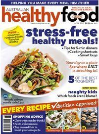 April 01 2017 Issue Of Healthy Food Guide Make Healthy