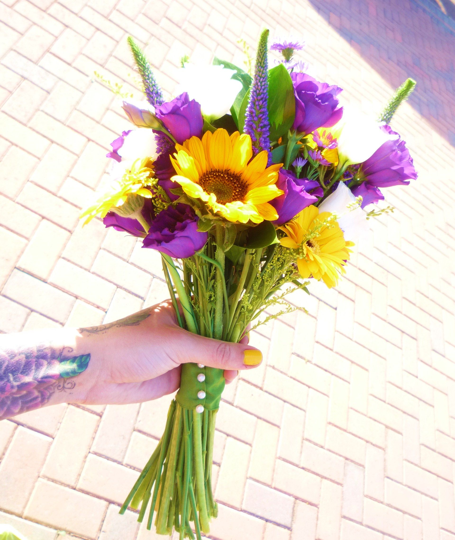 yellow and plum wedding Blog — Flora's Garden Creative