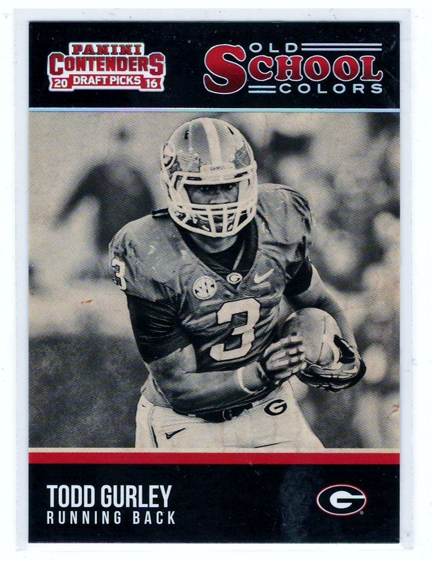 Sports Card Football Trading Cards Football Trading Cards Todd Gurley Sports Cards