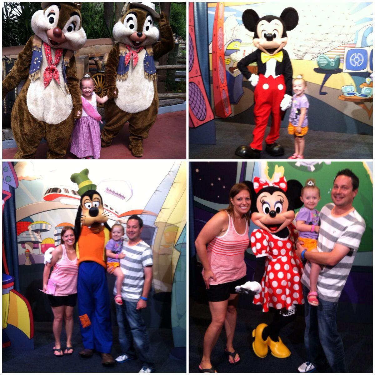 Character Spot in Walt Disney World!
