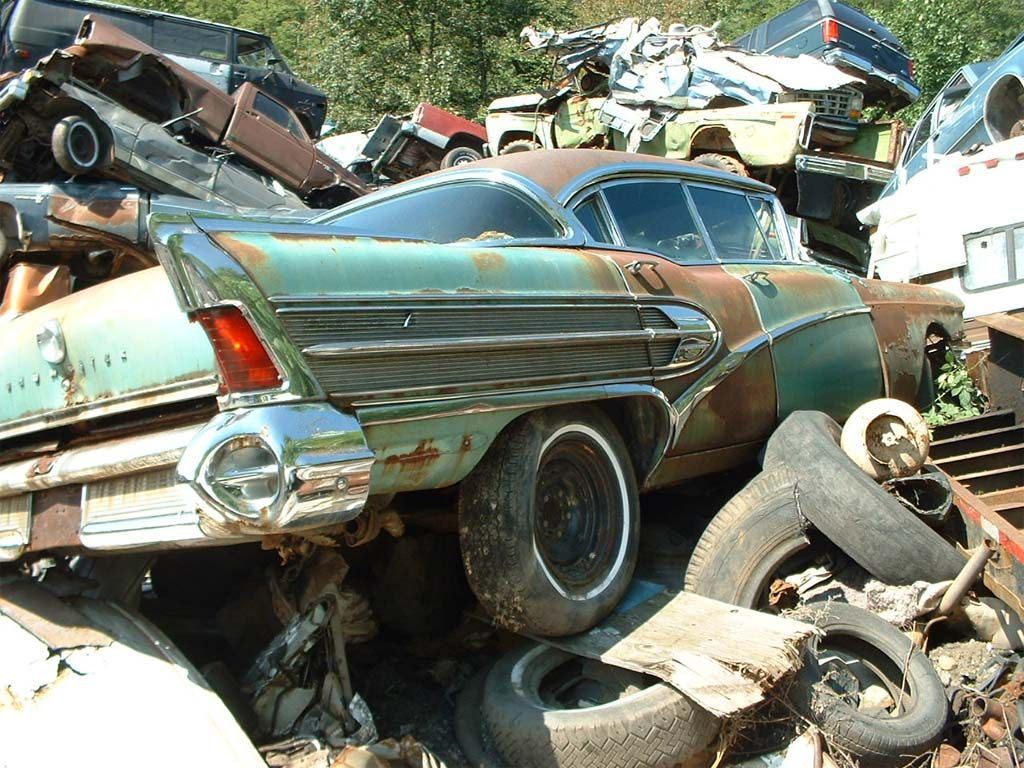 junk yard junk | Off to the Junkyard: Vehicle Scrappage Rates Soar ...