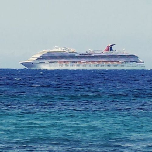 Carnivalbreeze Spotted In Curacao Willemstad Cruise Cruz
