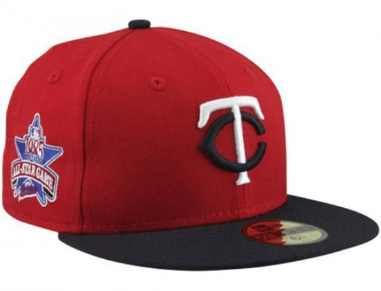 Minnesota Twins 1985 Cooperstown All Star Game Patch 59fifty Fitted Baseball Cap By New Era X Mlb Minnesota Twins Baseball Fitted Baseball Caps Minnesota Twins