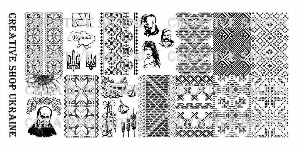 Creative Shop - Stamping Plate Ukraine | Products | Pinterest