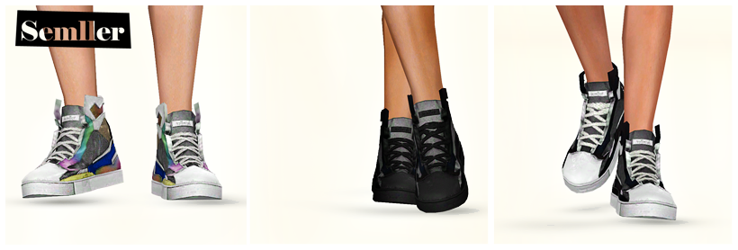 My Sims 3 Blog: Sneakers and Roller Skates by Semller