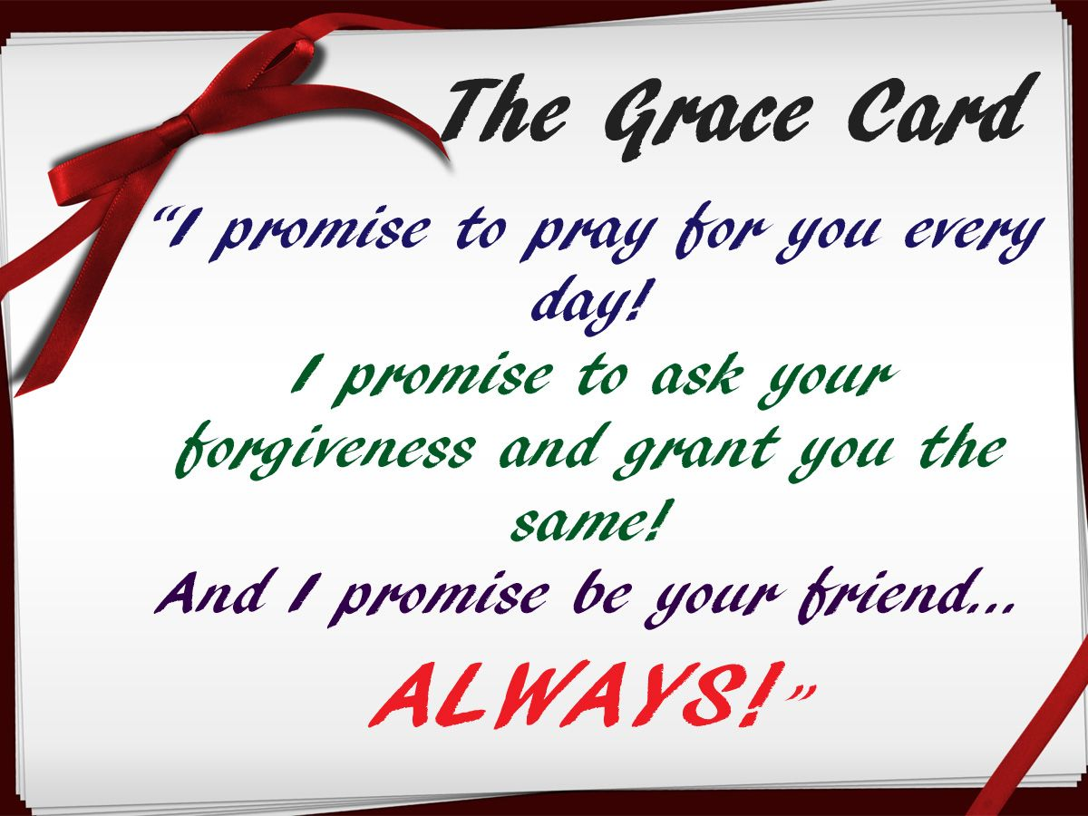 From The Grace Card Movie Thought I D Make My Own