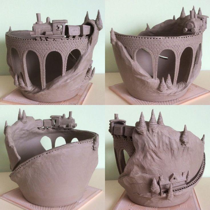 Bildergebnis Für Töpfern Ideen Für Die Weihnachtszeit | керамика |  Pinterest | Clay, Pottery And Pottery Clay