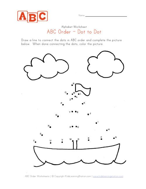 Abc Sail Boat Dot To Dot Places To Visit Pinterest Abc