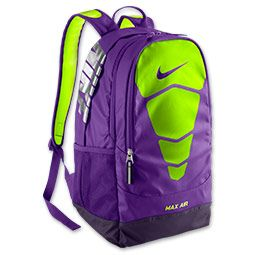 nike air max backpack purple