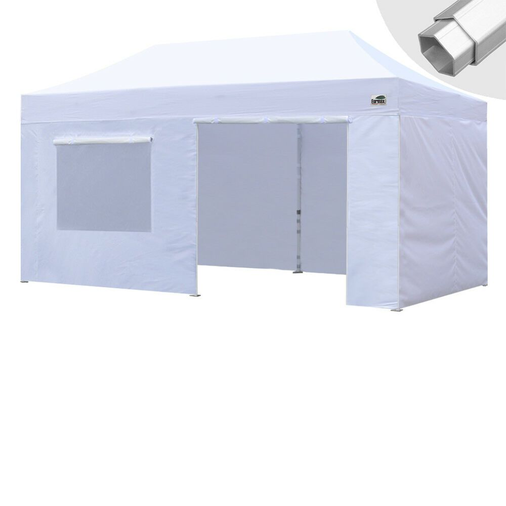 Advertisement Ebay Eurmax Canopy 10x20 Professional Ez Pop Up Marquee Tent W Side Walls Pop Up Canopy Tent Canopy Tent Commercial Canopy