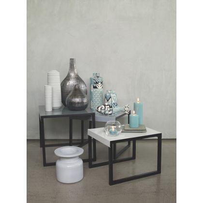 Habitat Kilo Metal Nest of Tables Grey lounge Pinterest