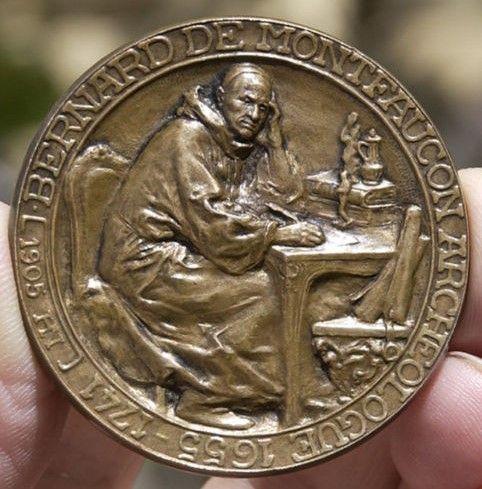 Montfaucon, Bernard de (1655-1741) | Medals and Plaquettes