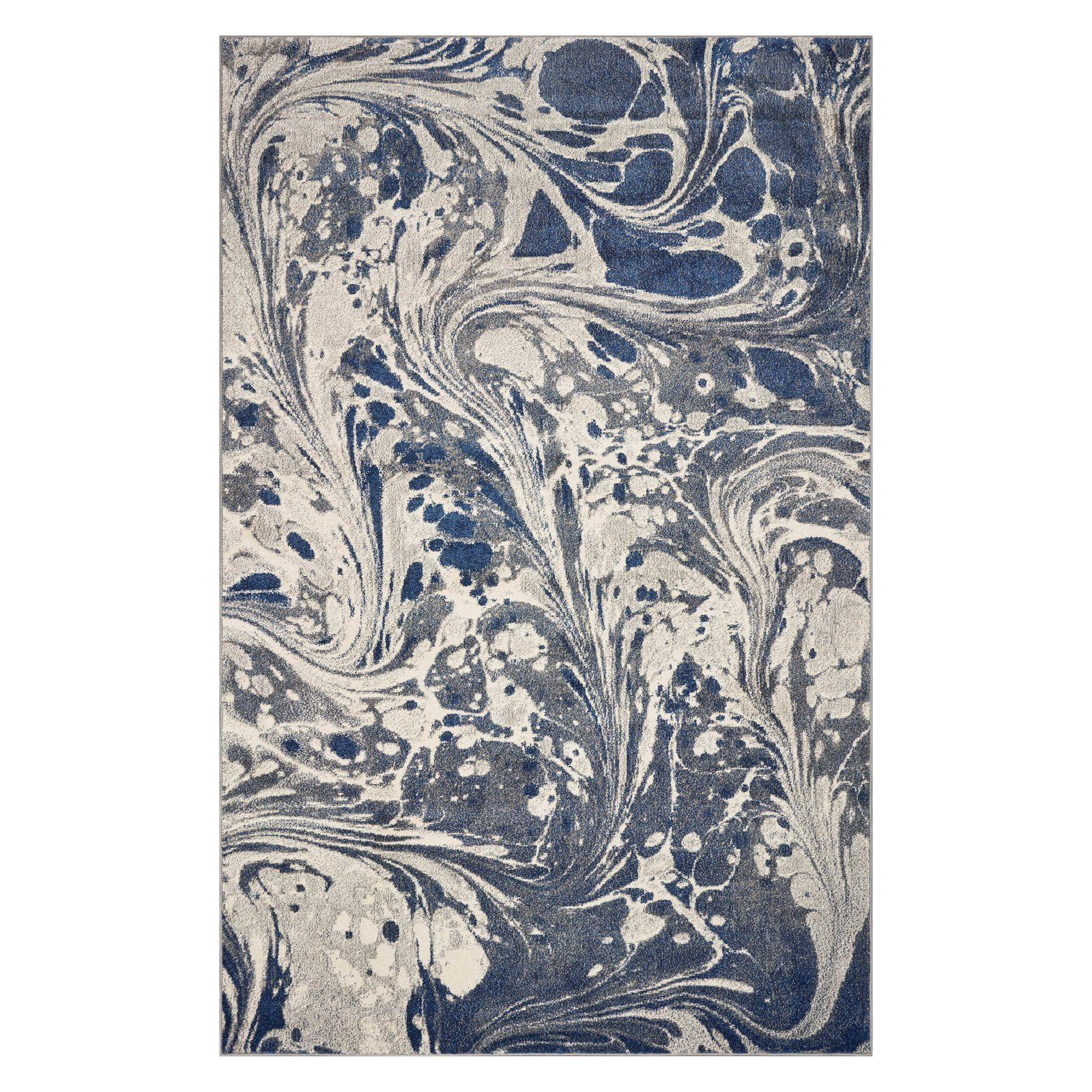 Kas Rugs Watercolors Marble Indoor Area Rug Gray Rugs Area Rugs