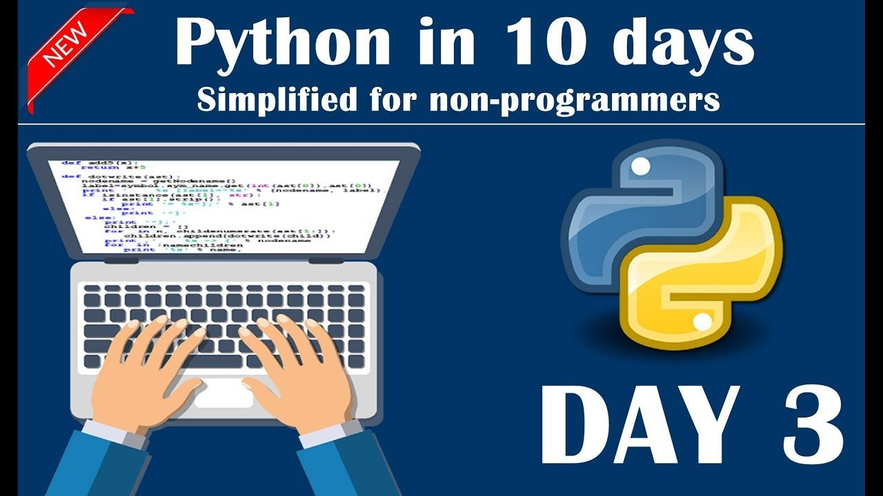 Day 3 Of Python In 10 Days Conditional Statements Python Operators Simple Math Learn Programming Python