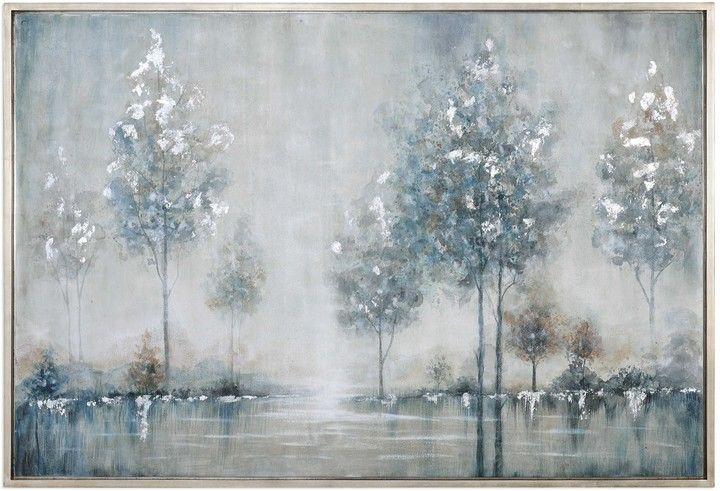 Nature Watercolor Framed Canvas Artwork | Canvas artwork, Framed ...