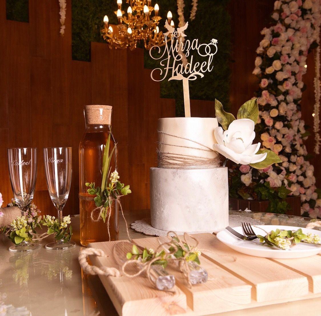 Wedding Glass طقم كاسات الزواج طقم الكيك Infintememoeies Table Decorations Decor Home Decor