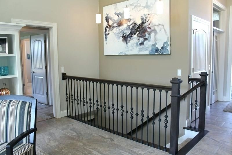 Best Pin By Paige Reardon On Our Modern Farmhouse Open Basement Stairs Stairs In Living Room Open 400 x 300