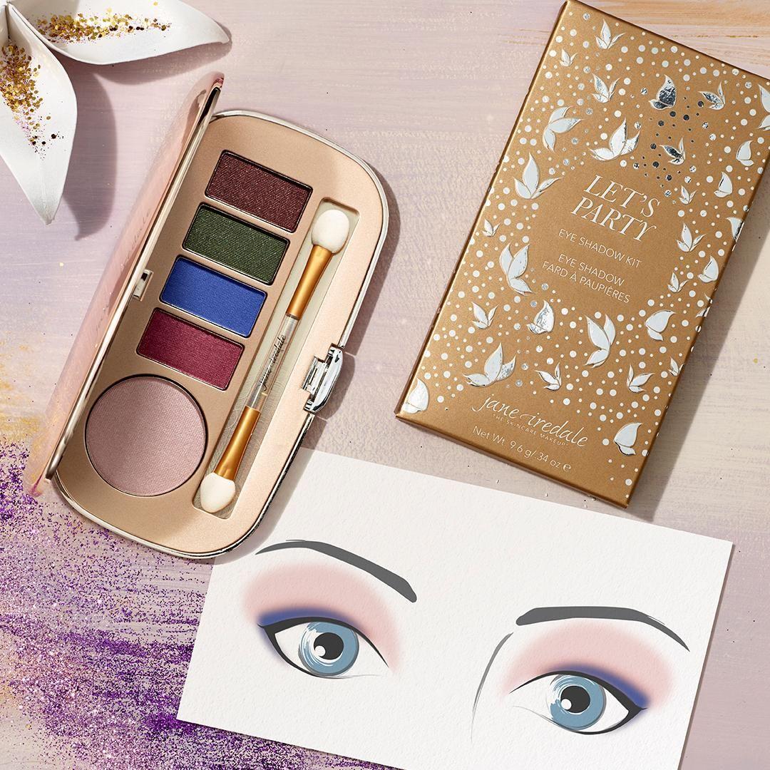 4 Holiday Eye Makeup Looks Makeup blog, Eye makeup