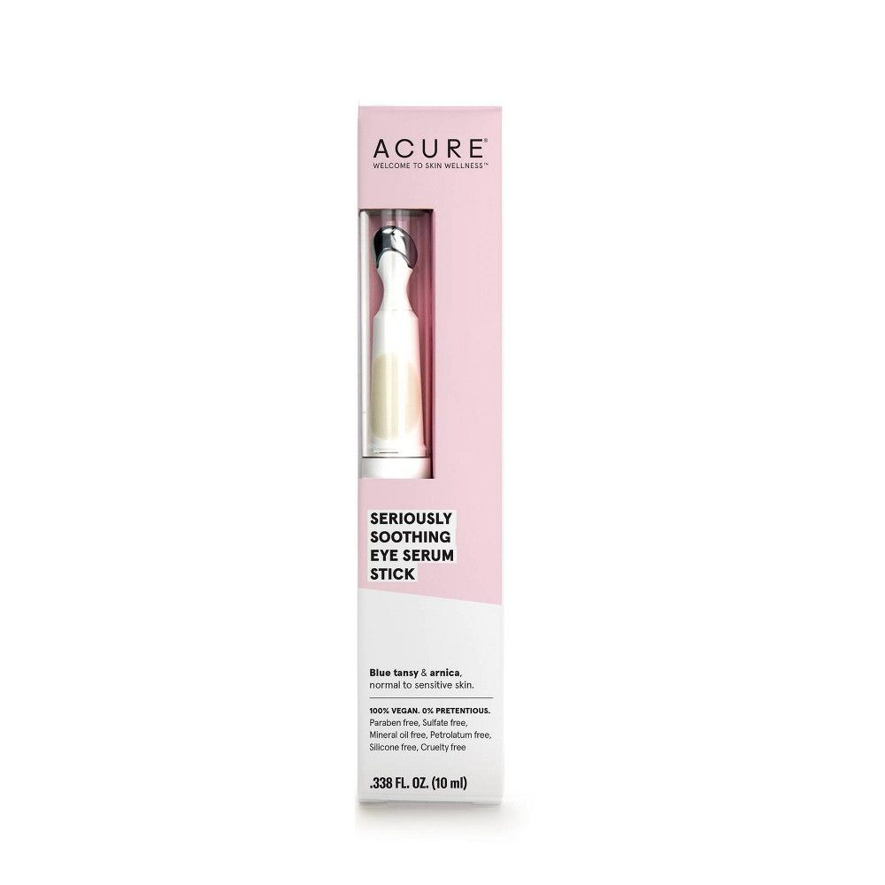 Acure Seriously Soothing Eye Serum Stick Facial Treatments