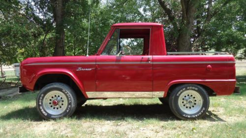 1966 Bronco Roadster U13  We will be loosing the top and