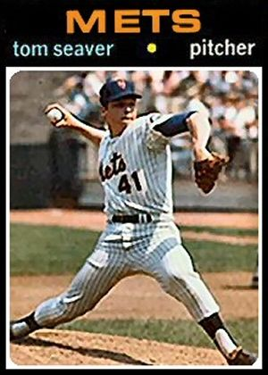 1971 Topps Tom Seaver Card That Never Was Vintage