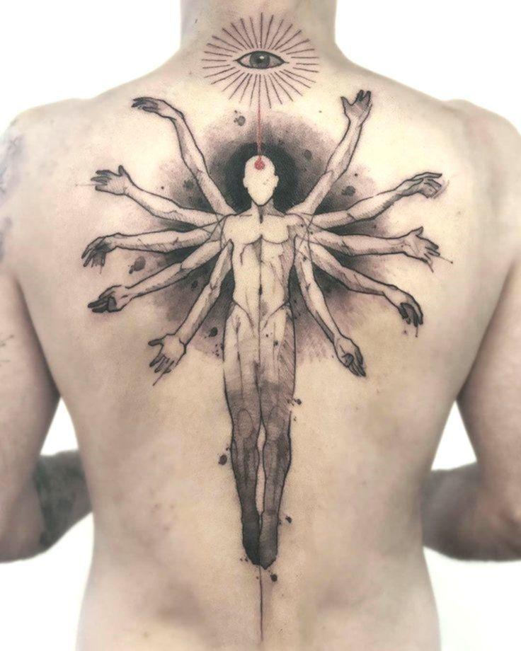Gita Back Tattoo - #Angel #Art #Bird #Compass #Disney #Drawings #Foot #ForMen #Gita #Heart #Minimalistas #MotherDaughter #OldSchool #Quotes #Shoulder #Tattoo #Wrist
