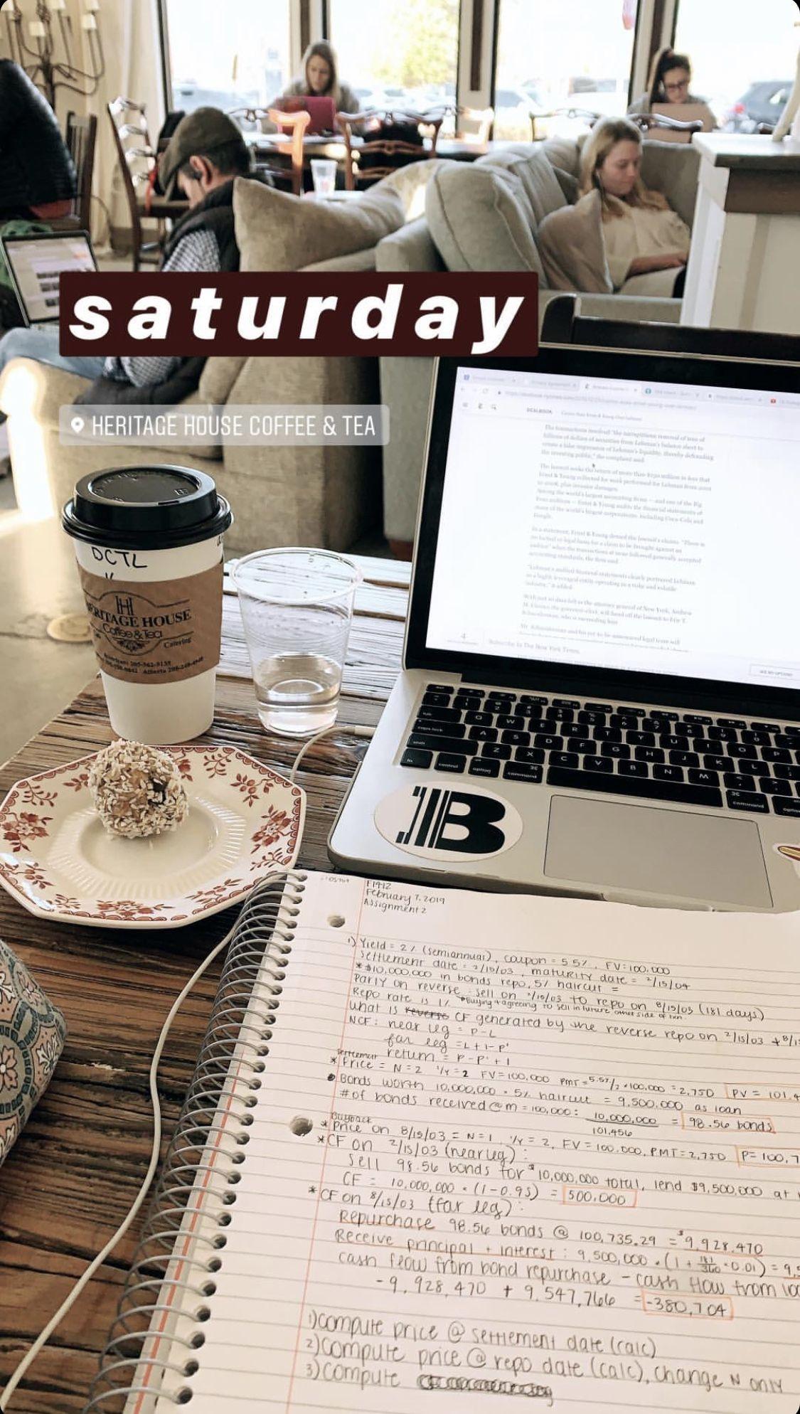 study studying studyblr notes laptop books