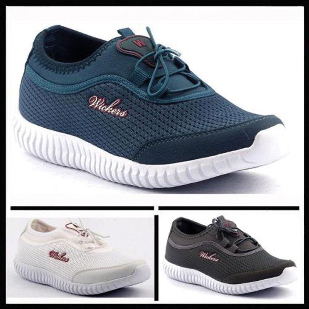 timeless design 79b28 53bed 👠Wickers 14042 Yazlık Fileli Ortopedik Günlük Bayan Spor Ayakkabı 💱  Fiyat  73,90