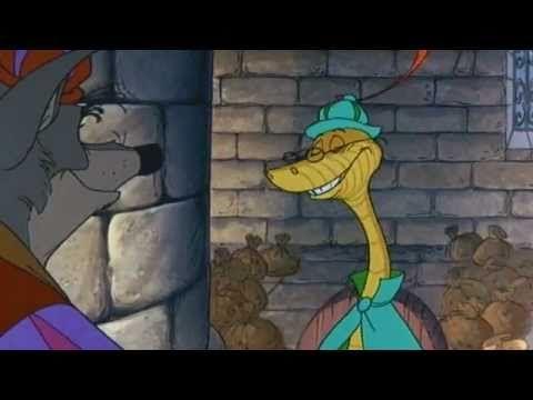 Youtube Pixar Animated Movies Robin Hood Disney Robin Hood