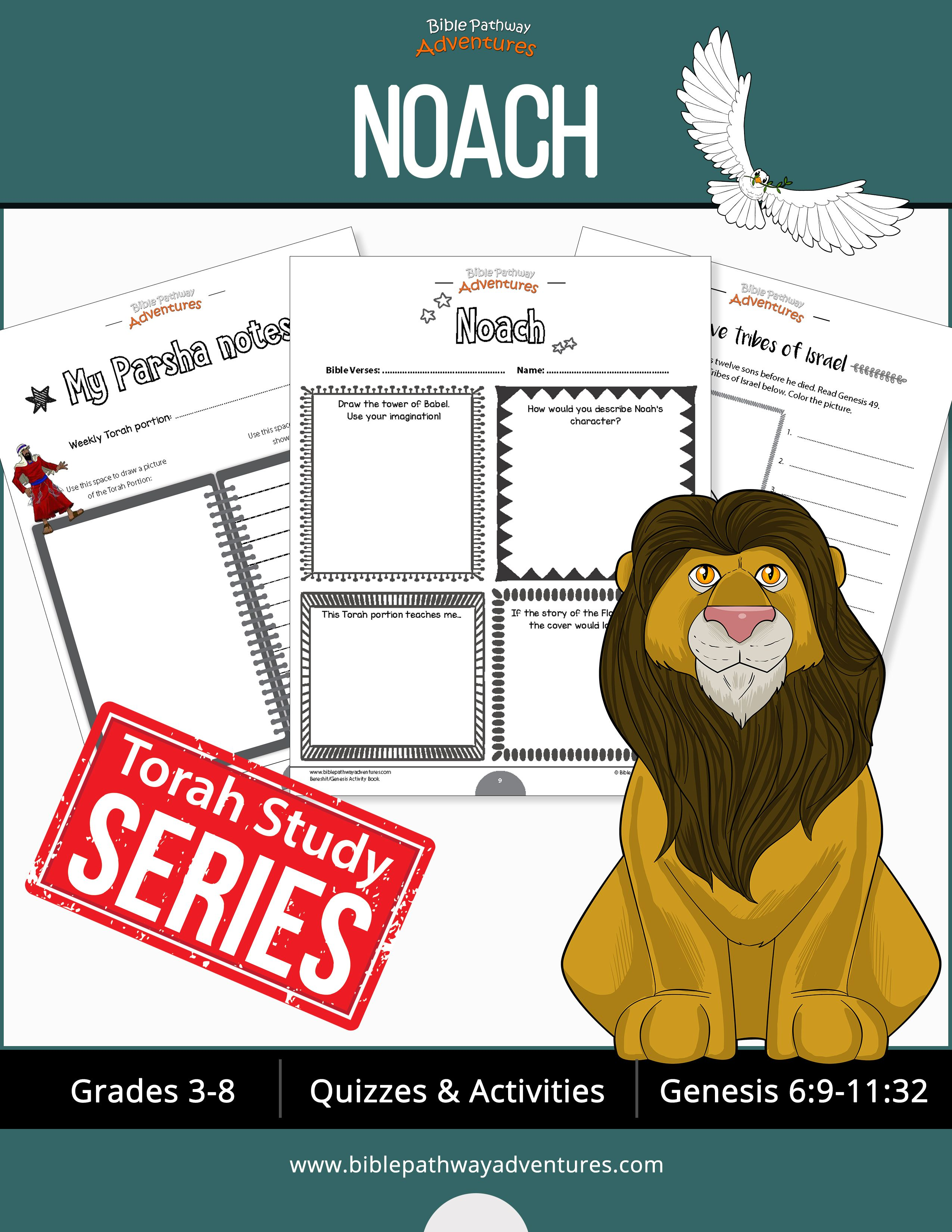 Noach genesis bible quizzes and activities from the