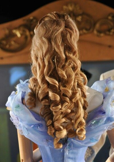 Back Of Cinderella S Ball Hairstyle Ball Hairstyles Hair Beauty Hair Styles