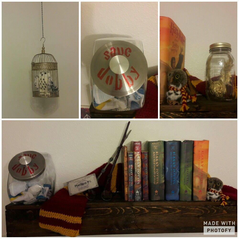 Start of our Harry Potter nursery