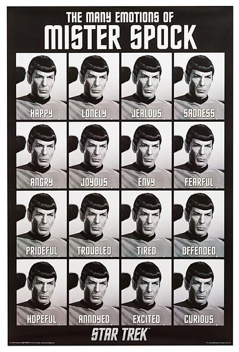 Spock emotions