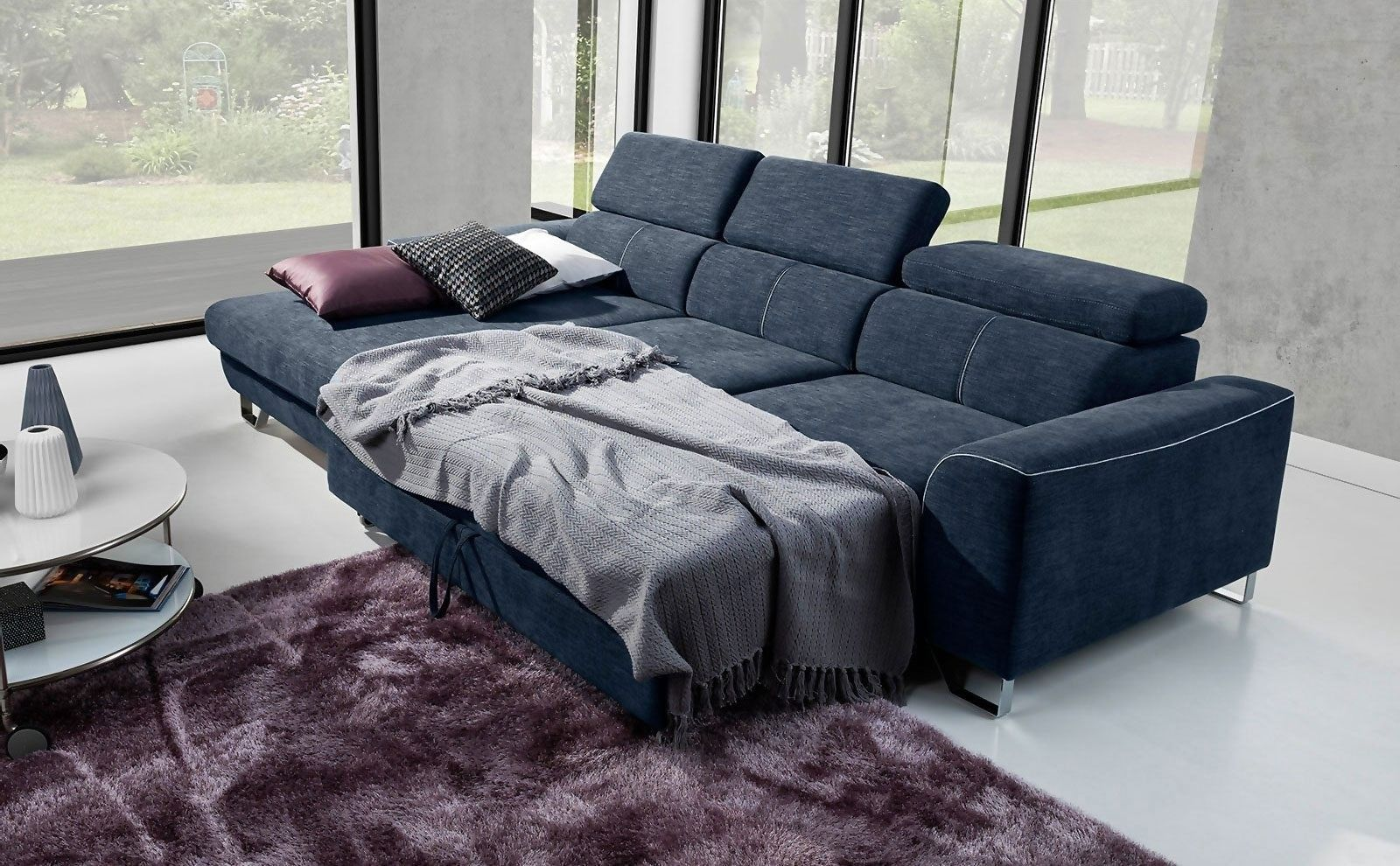 Coltar Extensibil Asti Cu Sezlong Pe Dreapta L280xa170xh77 Cm Somproduct Sofa Bed Bedroom Sofa Bed Sale Corner Sofa