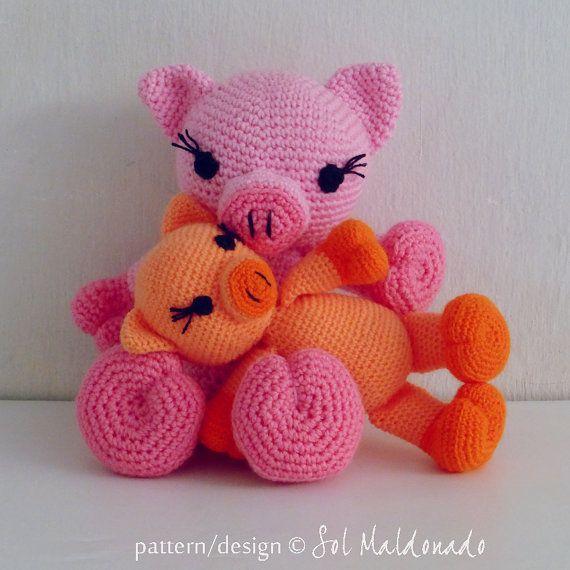 Pig Crochet Pattern Amigurumi Pdf Crochet Tutorials And Patterns