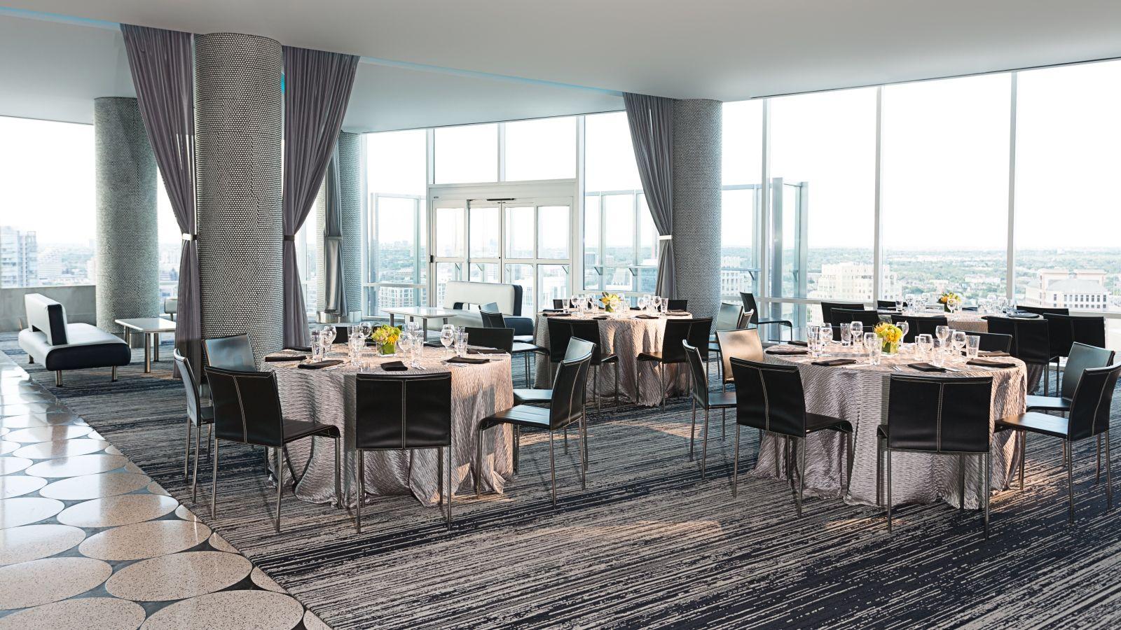 Altitude W Hotel Dallas Tx  Private Eventparty Venues Dallas Tx Mesmerizing Dallas Restaurants With Private Dining Rooms Review