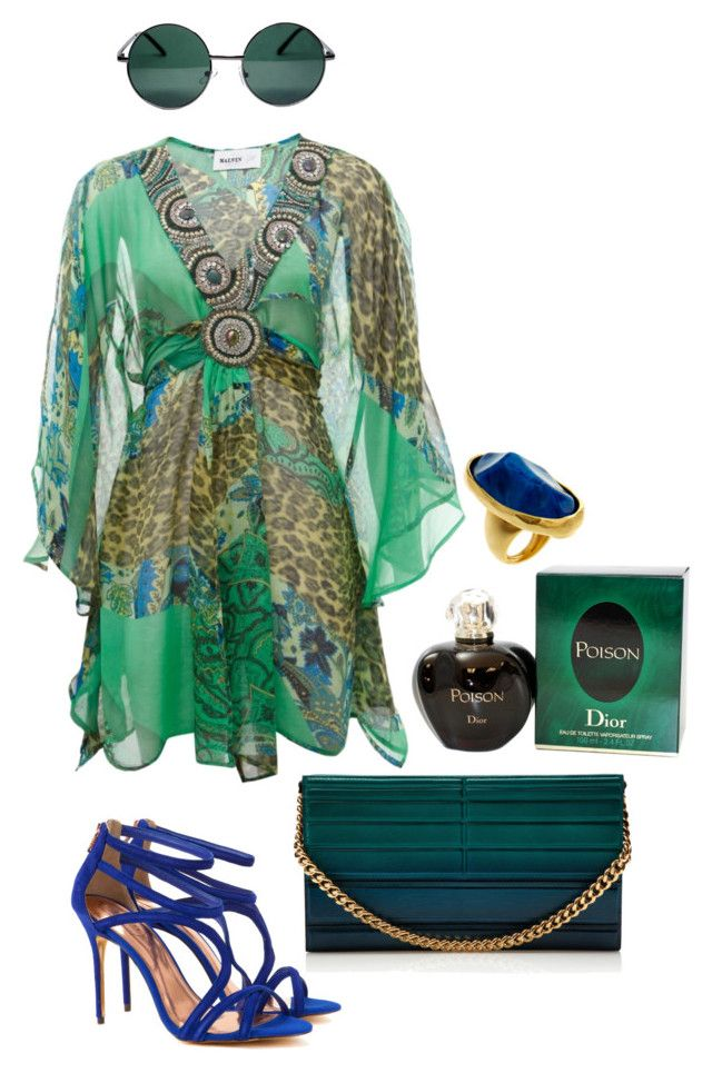 """""""Style#656"""" by mussedechocolate ❤ liked on Polyvore featuring Elie Saab, Malvin, Ted Baker, Kenneth Jay Lane, Christian Dior and YHF"""