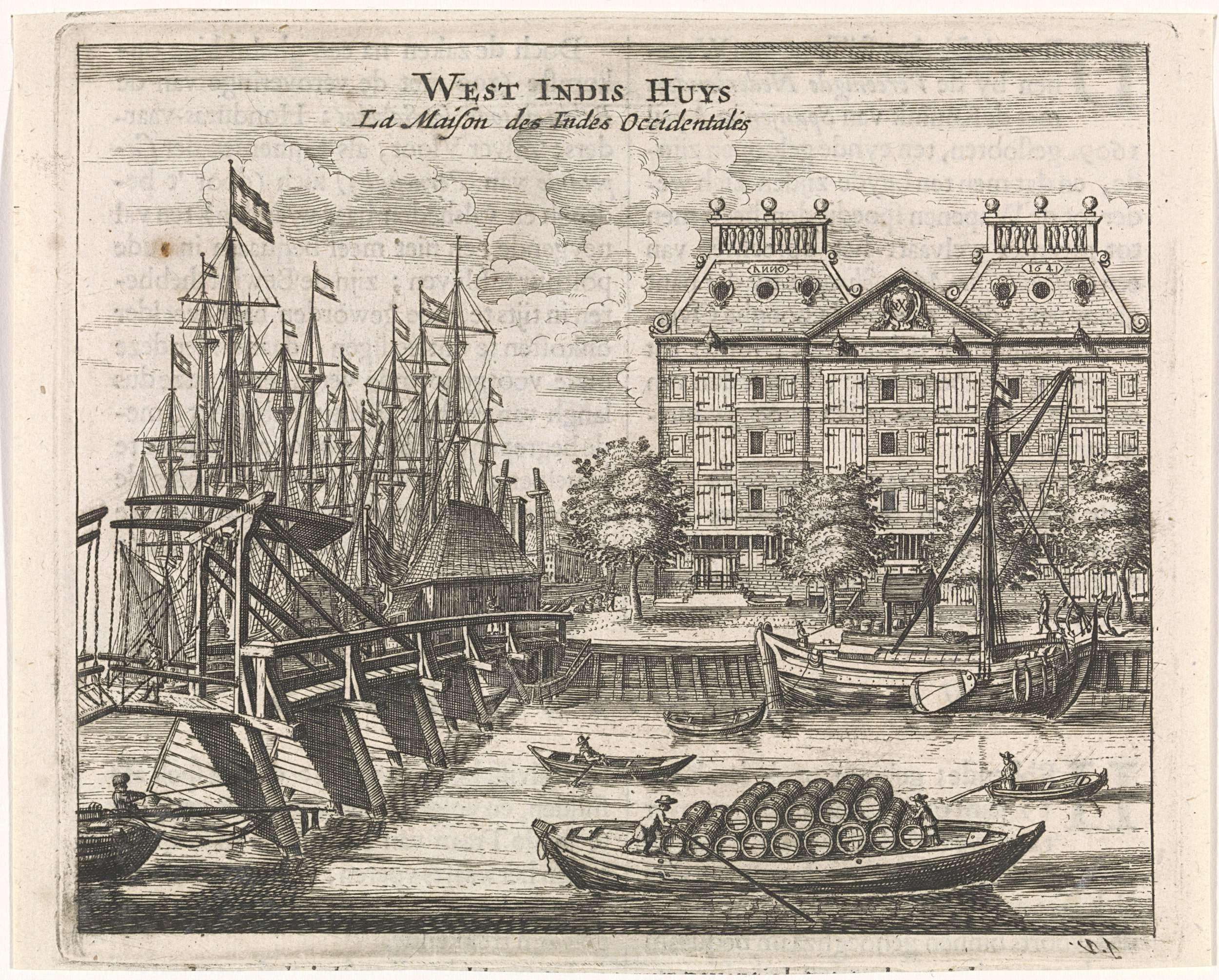 Jan Veenhuysen West Indisch Huis Te Amsterdam Jan Veenhuysen 1665 Amsterdam Indisch Gezicht