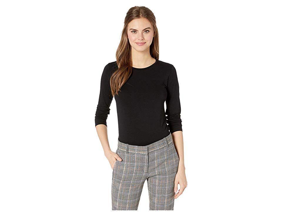 Women Ladies Classical look Crew Neck Long sleeve T Shirt jumper Top