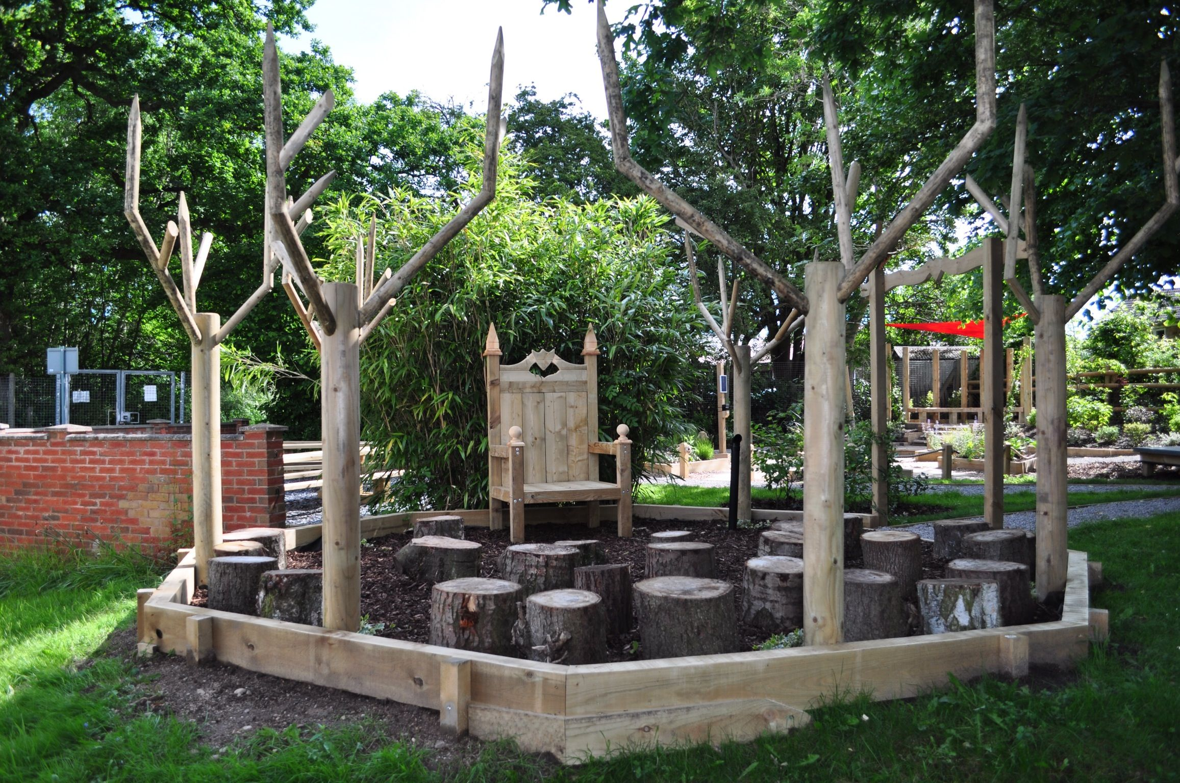 Story Telling Circle Outdoor Classroom Built For Web Heath First School Redditch By Jill D Outdoor Classroom School Outdoor Classroom Outdoor Learning Spaces