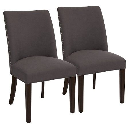 Parker Barrel Dining Chair With Nailheads Set Of 2 Threshold