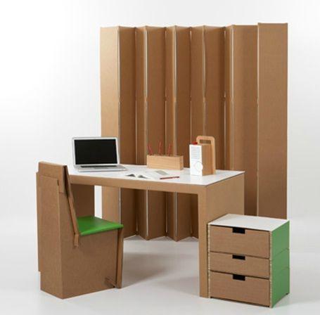 Revista digital apuntes de arquitectura muebles de cart n - Muebles de carton ...