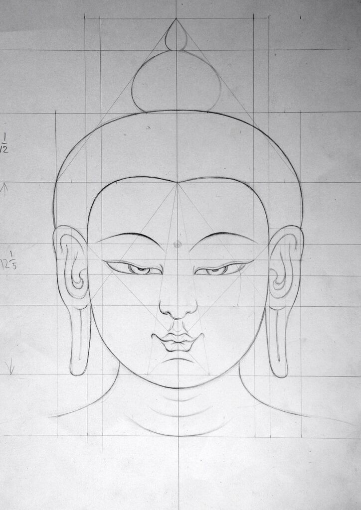 Pin By Chava On Sai Buddha Art Painting Buddha Art Drawing Buddhist Art Drawing
