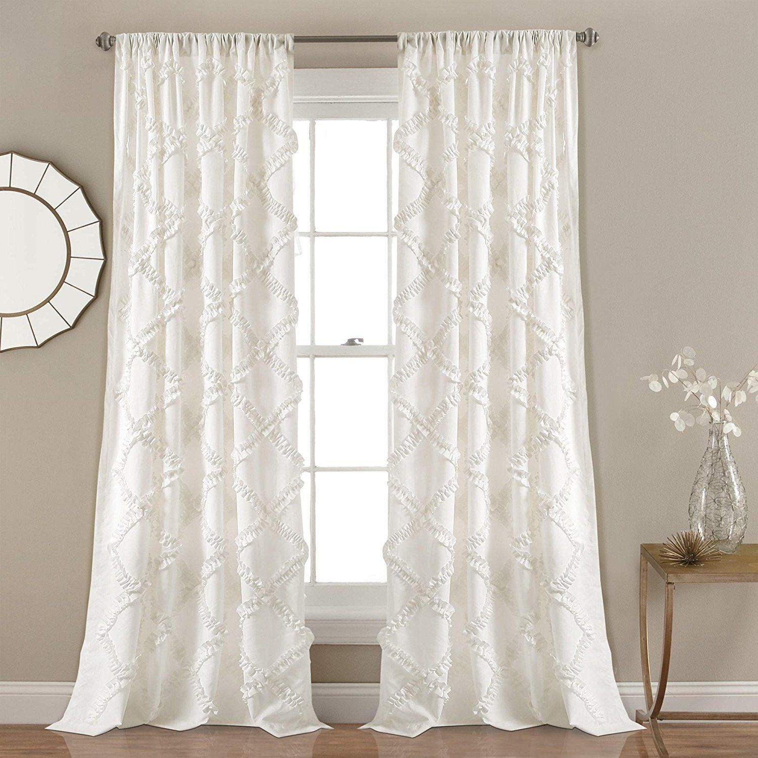 Vesta Textured Curtains Crate And Barrel Curtain Texture Blue